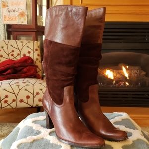 ana leather boots size 9.5
